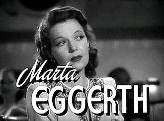 Marta Eggerth - Marta Eggerth in Presenting Lily Mars, 1943