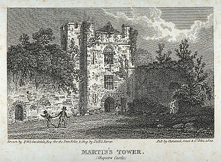 Martin's tower (Chepstow Castle)