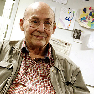 Marvin Minsky was visiting the OLPC offices an...