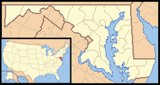 Ocean City is located in Maryland