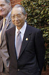 Masajuro Shiokawa cropped 2 Finance Ministers of G7 20030412.jpg