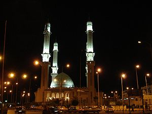 Islam in Egypt - Masjid Hamza in Suez, Egypt