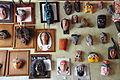 Masks in the city hall in Bernal (8047916425).jpg