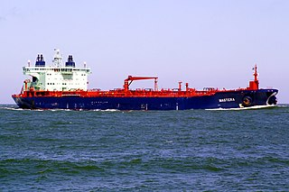 MT <i>Mastera</i> Finnish Aframax crude oil tanker operated by Neste Shipping