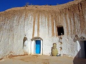 Matmata, Tunisia - Troglodyte house
