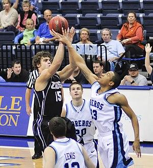 Matt Bouldin - Bouldin playing for Gonzaga University