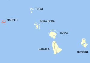 Maupiti (commune) - Image: Maupiti