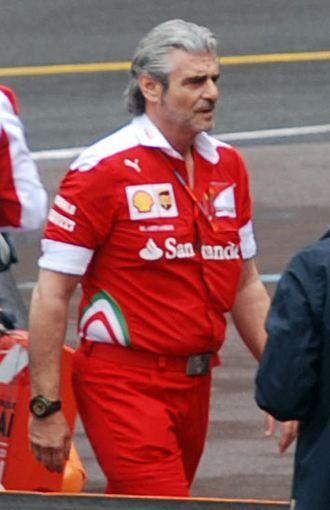 Maurizio Arrivabene - Image: Maurizio Arrivabene Scuderia Ferrari 2016 Monaco F1 GP (edited)