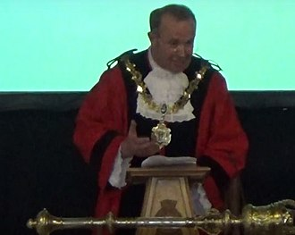 Mayor of Wirral - Pat Hackett, 43rd Mayor of Wirral