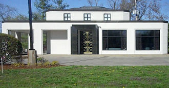 Meade County, Kentucky - The Meade County Bank in Muldraugh resembles the U.S. Gold Bullion Depository's exterior design at Fort Knox
