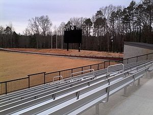 Sportsplex at Matthews - The stadium's East Stand