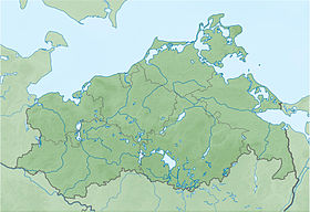 Peenestrom ubicada en Mecklemburgo-Pomerania Occidental