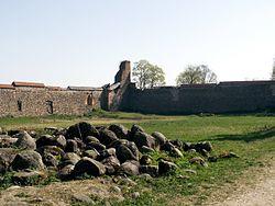 Medininku pilis kada pastatyta