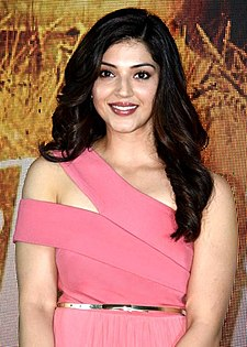 Mehreen Pirzada grace the media meet of Phillauri.jpg