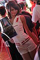 Meiko Watanabe, Konami promotional model at Tokyo Game Show 20100918.jpg