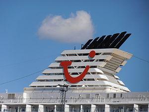 Mein Schiff 2' Funnel 13 May 2012.JPG