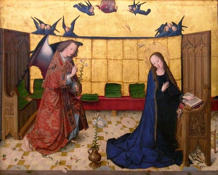 Meister des Marienlebens annunciation