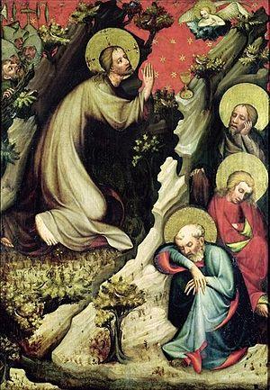 Třeboň Altarpiece - The Agony in the Garden