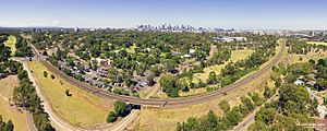 Melbourne Zoo - Melbourne Zoo aerial panorama