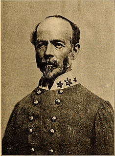 Joseph E. Johnston Confederate Army general