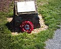 Memorial stone for a crashed WW2 bomber - geograph.org.uk - 37903.jpg