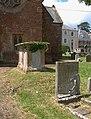 Memorials, Nynehead - geograph.org.uk - 1394383.jpg