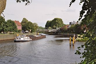 Ems (river) - Ems in Meppen