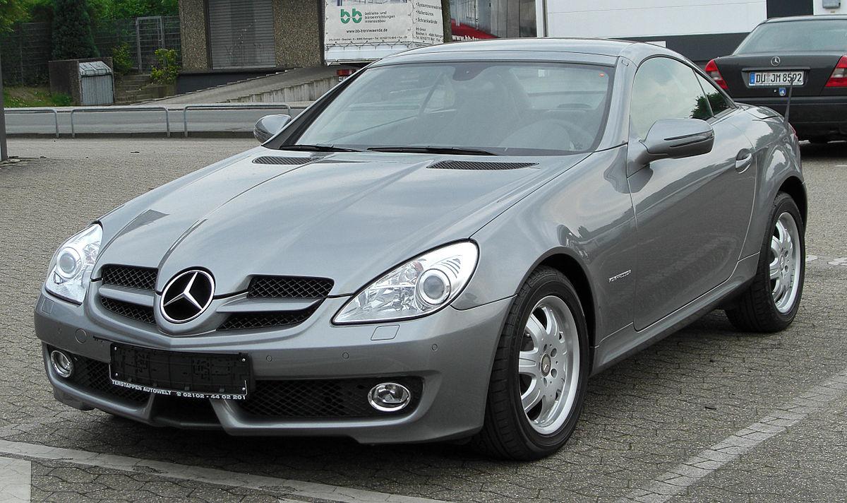 Mercedes Benz R171 Википедия