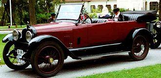 Mercer (automobile) - 1916 Mercer 22/72 Touring