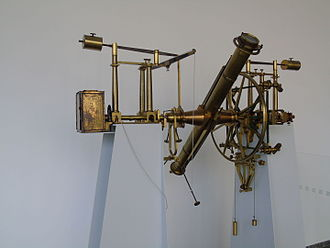 Gotha Observatory - Meridian Circle, at Gotha Observatory till 1936