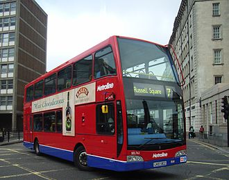 East Lancashire Coachbuilders - East Lancs Olympus, one of the last East Lancs badged products, this one run by Metroline