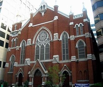 Metropolitan African Methodist Episcopal Church - Image: Metropolitan AME Church, DC