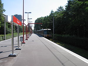 Ommoord - Metro terminus at Binnenhof