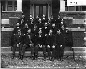 College literary societies - Members of the Miami University Erodelphian Literary Society, 1906.
