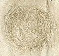 Michał Karybut Višniaviecki, Pahonia. Міхал Карыбут Вішнявецкі, Пагоня (1669).jpg