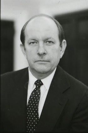 Michael Deaver 1981 BW