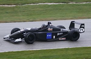 Formula Atlantic - 2011 SCCA National Championship Runoffs winner Michael Mällinen