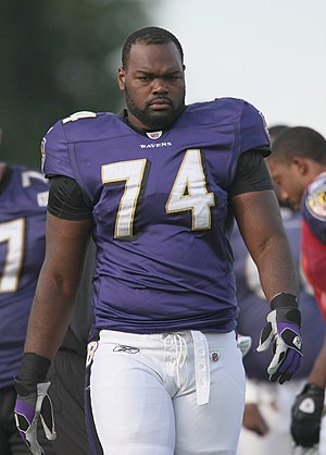 Michael Oher - Oher with the Baltimore Ravens in 2009.