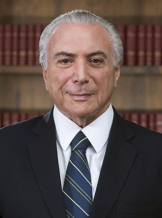 2018 G20 Buenos Aires summit - Image: Michel Temer (foto oficial) (cropped)