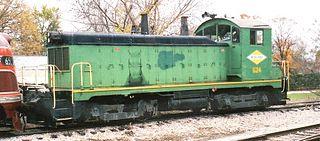EMD NW2 Switcher locomotive