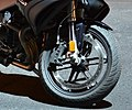 Midnight Black 2009 Buell 1125R, closeup front.jpg