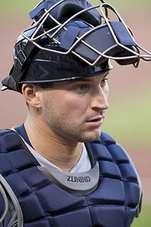 Mike Zunino American baseball catcher