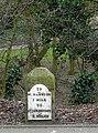 Milestone on Penn Road, Wolverhampton - geograph.org.uk - 1181163.jpg