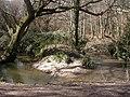 Milford on Sea, stream meander - geograph.org.uk - 1753276.jpg