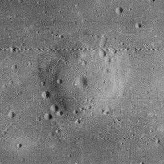 Lunar dome - Typical lunar dome Milichius Pi, about 11 km across