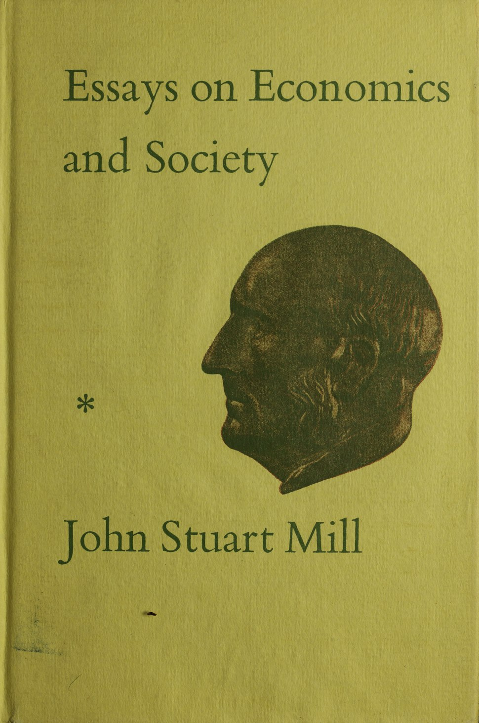 Mill - Essays on economics and society, 1967 - 5499347