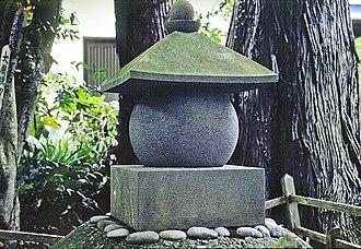 Minamoto no Noriyori - Grave of Minamoto no Noriyori, Shuzenji (present-day Izu), Shizuoka Prefecture