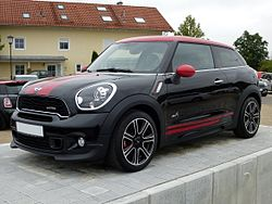 Mini John Cooper Works >> Mini Paceman – Wikipedia