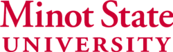 Minot State University wordmark.png