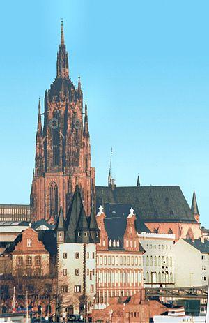 Imperial Cathedrals - Image: Mk Frankfurt Dom Saalhof